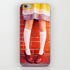 It's all about the shoes! iPhone & iPod Skin