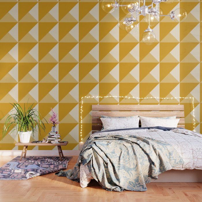 Mustard Tones Wallpaper