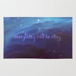 Everything Will Be Okay Rug