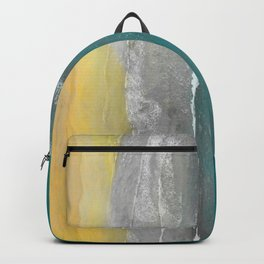 Watercolour Summer beach II Backpack