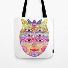 kindly expressed kind of kindness mask Tote Bag