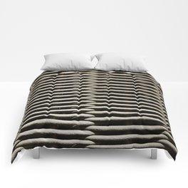 Background wicker wood rods Comforters