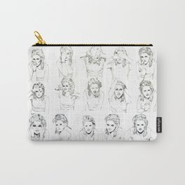 Kristen Stewart Sketches Carry-All Pouch