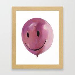 Balloon Head Framed Art Print