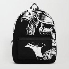 samurai skull Backpack