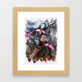 League of Legends JINX Framed Art Print
