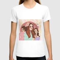 lana T-shirts featuring Lana by Clementine Petrova