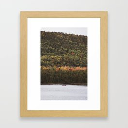 The Lone Canoe | Copper Harbor, Michigan | John Hill Photography Framed Art Print