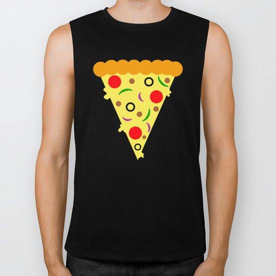 Pizza!  Food of the Gods! Biker Tank