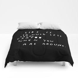 TOTAL CRAP Comforters