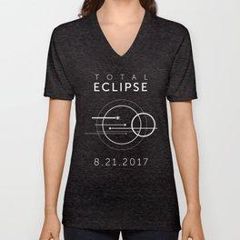 2017 Total Eclipse Unisex V-Neck