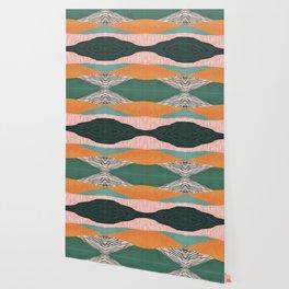 Modern irregular Stripes 02 Wallpaper