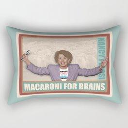 Macaroni For Brains Rectangular Pillow