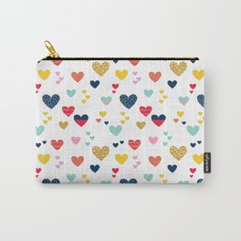 cheerful hearts Carry-All Pouch