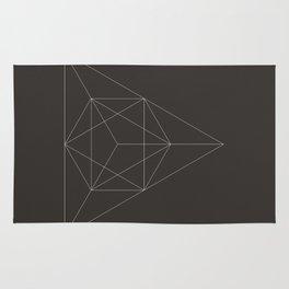 Geometric Dark Rug