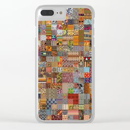 Ethnic Patterns Clear iPhone Case