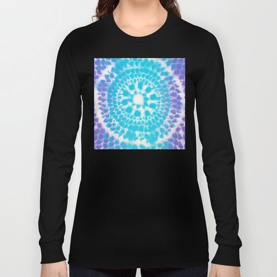 Scale Mandala Pattern Long Sleeve T-shirt