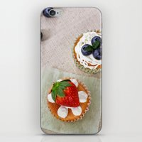 dessert iPhone & iPod Skins featuring DESSERT V by Ylenia Pizzetti