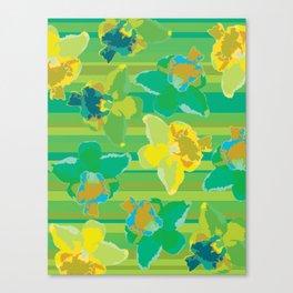 Fluor Flora - Acid Canvas Print