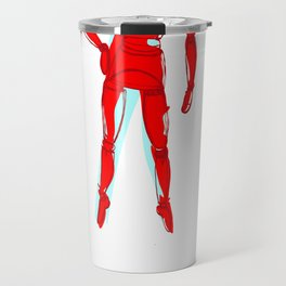 Space lay figure again classic Travel Mug