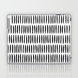 Classy Handpainted Stripes Pattern, Scandinavian Design Laptop & iPad Skin