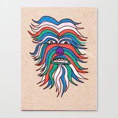 whacky wookie Canvas Print
