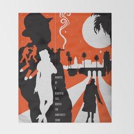 Hardboiled :: Farewell My Lovely :: Raymond Chandler Throw Blanket