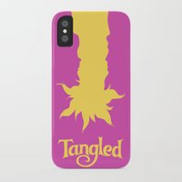 tangled iPhone & iPod Cases featuring Tangled by Citron Vert