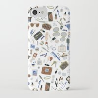 wallet iPhone & iPod Cases featuring Girly Objects by Yuliya