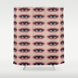 eyesSs on you Shower Curtain