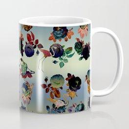 roses and flamingoes Coffee Mug