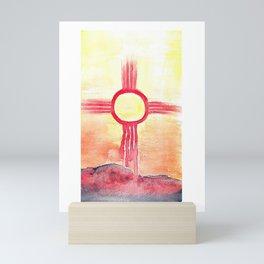 Desert Sun Mini Art Print