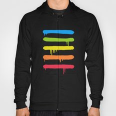 Trendy Cool Graffiti Tag Lines Hoody