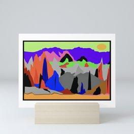 Santa Rosa Mountains Mini Art Print