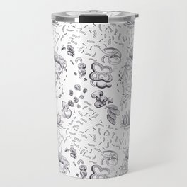 Pizza Art Mandala Travel Mug