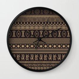 Africa Ethnic  Wall Clock