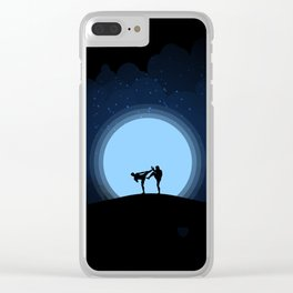 Night fight Clear iPhone Case