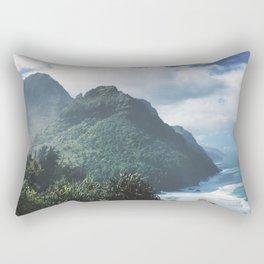 Na Pali Coast Kauai Hawaii Rectangular Pillow