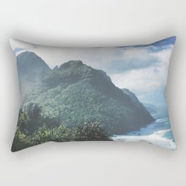 Na Pali Coast Kauai Hawaii Rectangular Pillow