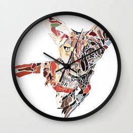 San Joaquin Fox Wall Clock