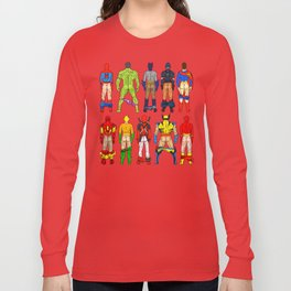 Superhero Butts Long Sleeve T-shirt