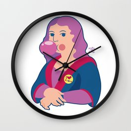 Mona lisa candy Wall Clock