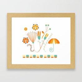 Spring vintage Framed Art Print