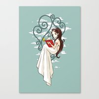 fairy tale Canvas Prints featuring Fairy Tale by Freeminds