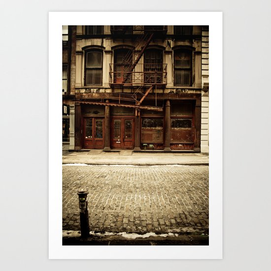 Greene Street SoHo Art Print