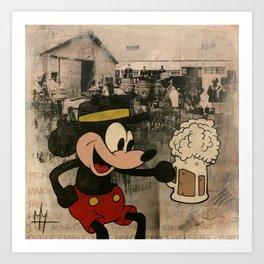 Barrel O' Laughs Art Print