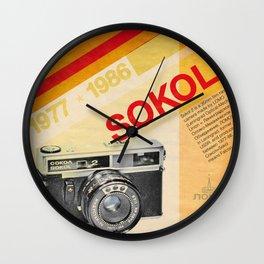 Sokol 2 Wall Clock