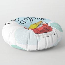 Campari Floor Pillow