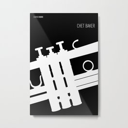 Jazz Chet Metal Print
