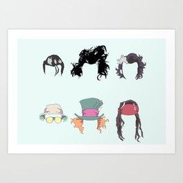 John Hair Art Print